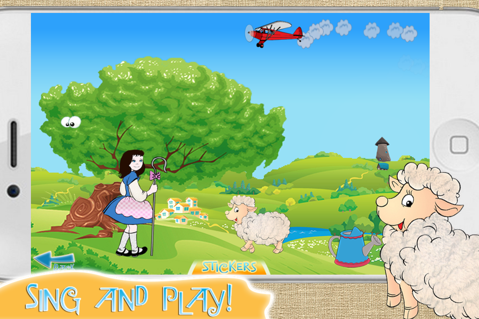 Screenshot Mary's Little Lamb: A Preschool Tale